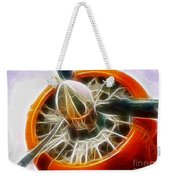 Fantasy Plane Weekender Tote Bag by Paul Ward