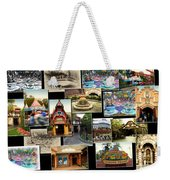 Fantasyland Disneyland Collage Weekender Tote Bag