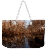Far Mill River Reflects Weekender Tote Bag