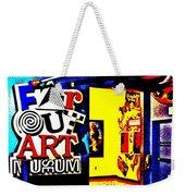 Far Out Art Museum At Wonderworks Weekender Tote Bag