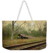 Far Side Of The Tracks Weekender Tote Bag