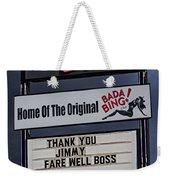 Farewell Boss Weekender Tote Bag