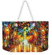 Farewell To Anger Weekender Tote Bag by Leonid Afremov