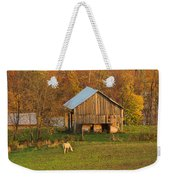 Farm At Sunrise Weekender Tote Bag
