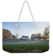 Farm At Valley Forge In Morning Weekender Tote Bag