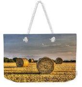 Farm Bales Weekender Tote Bag