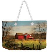Farm - Barn - Just Up The Path Weekender Tote Bag