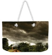 Farm - Barn - Storms A Comin Weekender Tote Bag