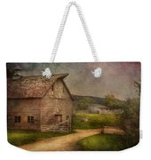 Farm - Barn - The Old Gray Barn  Weekender Tote Bag