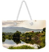 Farm By The Connecticut Weekender Tote Bag