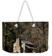 Farm Cabin Cades Cove Tennessee Weekender Tote Bag