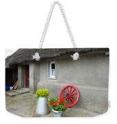 Farm Cottage Weekender Tote Bag