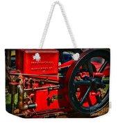 Farm Equipment - International Harvester Feed And Cob Mill Weekender Tote Bag