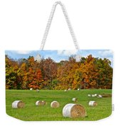 Farm Fresh Hay Weekender Tote Bag