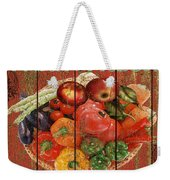 Farm Fresh Produce Weekender Tote Bag