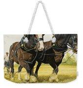 Farm Horses Weekender Tote Bag