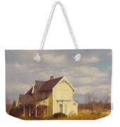 Farm House And Landscape Weekender Tote Bag