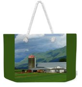 Farm In The Valley Weekender Tote Bag