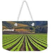 Farm Lands Of The Central Coast By Diana Sainz Weekender Tote Bag
