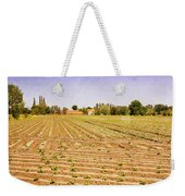 Farm Landscape Weekender Tote Bag