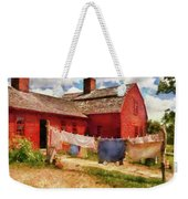 Farm - Laundry - The Clothes Line Weekender Tote Bag