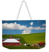 Farm Machinery Weekender Tote Bag by Inge Johnsson