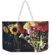 Farm Stand Weekender Tote Bag by Caitlyn  Grasso