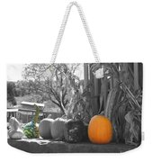 Farm Stand In Autumn Weekender Tote Bag