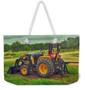 Farm Tractor Weekender Tote Bag