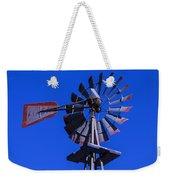 Farm Windmill Weekender Tote Bag