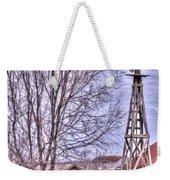Farm - Windmill - Red Barn Farm - Missouri Weekender Tote Bag