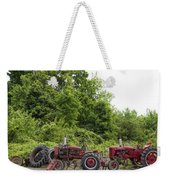 Farmall Tractors All In A Row Weekender Tote Bag