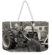 Farmer And His Tractor Weekender Tote Bag