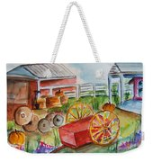 Farmers Backyard Weekender Tote Bag