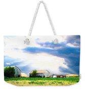 Farmer's Field At Sundown Weekender Tote Bag