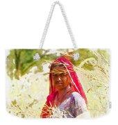 Farmers Fields Harvest India Rajasthan 8 Weekender Tote Bag