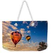 Farmer's Insurance Hot Air Ballon Weekender Tote Bag by Robert Bales