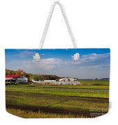 Farmer's Market And Green Fields Weekender Tote Bag
