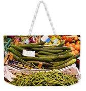 Farmers Market Florence Italy Weekender Tote Bag