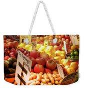 Farmers Market Weekender Tote Bag by Karen Wiles