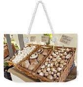 Farmers Market Mushrooms Weekender Tote Bag