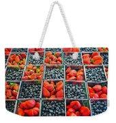 Farmers Market Weekender Tote Bag