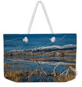 Farmers Pond Weekender Tote Bag