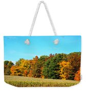 Farmfield Fall Weekender Tote Bag