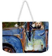 Farmhand Weekender Tote Bag by Molly Poole