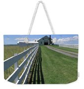 Farmhouse And Fence Weekender Tote Bag by Frank Romeo