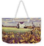 Farmhouse And Grapevines Weekender Tote Bag