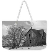 Farmhouse Black And White Weekender Tote Bag