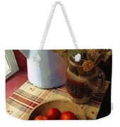Farmhouse Fruit And Flowers Weekender Tote Bag