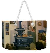 Farmhouse In Autumn 1990 Weekender Tote Bag